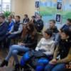 Бібліотека Багрицького зібрала студентів на захід на честь Дня захисника України